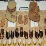 Travail du cuir - Jeunes cordonniers Ahli