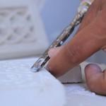 Travail du plâtre
