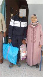 La distribution des paniers de Ramadan 2017